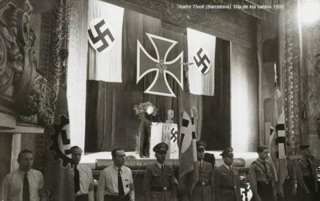 Día de los caídos 1939 en el teatro Tívoli
