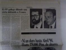 Rajoy con Franco